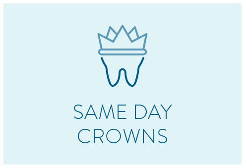 same day crowns